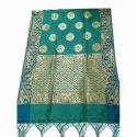 Party Wear Ladies Green Designer Saree