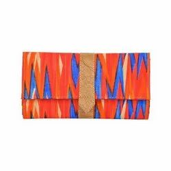 Azzra Red Wallet Clutch