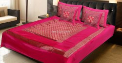 Poly Dupion Silk Jacquard Bedding Bedspreads