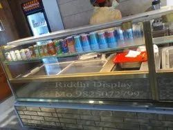 Fast Food Display Counter