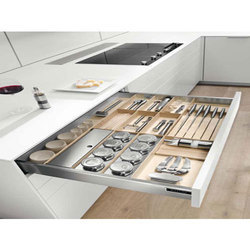 Stainless Steel SS Kitchen Trolley