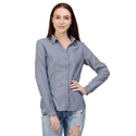 Plain Full Sleeve Ladies Shirts