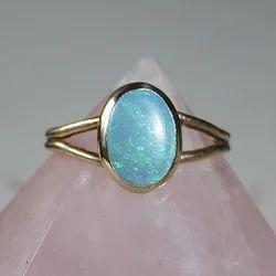 Opal Silver Ring Upala