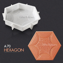 A70 Hexagon Paving Block Mould