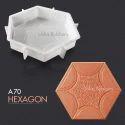 A70 Hexagon Paving Block Mould