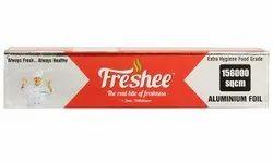 Freshee 156000sqcm Aluminium Silver Kitchen Foil Roll Paper