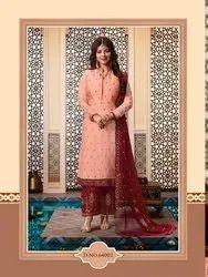 a7e4f87aa7 Exclusive Designer Suits - Lavina Vol 64 Georgette Suit Manufacturer ...