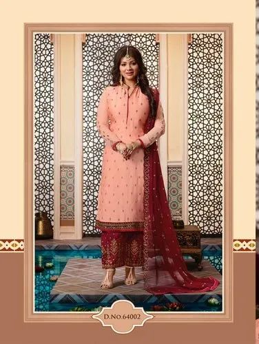 a7e4f87aa7 Exclusive Designer Suits - Lavina Vol 64 Georgette Suit Manufacturer ...