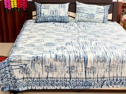 handmade Hand Block printed Bedsheet