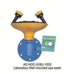 ADHOC Laboratory Wall Mounted Eye Wash, GISU-1033