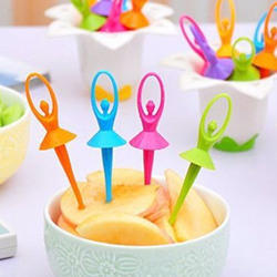 Plastic Fruit Fork