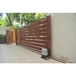 Paint Coated MS Remote Control Gate for Residential and Commercial