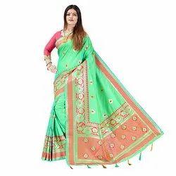 1521 Jacquard Silk Saree