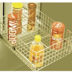 SS Designer Bottle Rack Basket