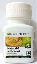 Nutrilite Natural B with Yeast 100 N Tablets