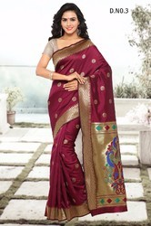 Heavy Cotton Silk Sarees