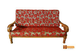 Manila Teakwood 3 Seater Sofa