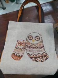 Embroidery Zucko Cotton Designer Handbag