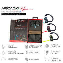Arcadio Wireless Headsets, Weight: 270gms
