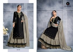Blossom Vol 8-Kessi Beautiful Designer Cotton With Work Lehenga Suits