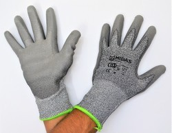 Cut Resistant Hand Gloves Cut Level 5 Midas Make