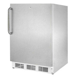 ANI 3 Star Single Door Stainless Steel Refrigerator, Capacity: 350 L
