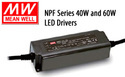 NPF Series AC to DC LED Drivers