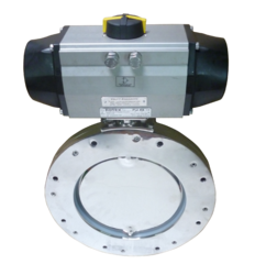 Valfit Butterfly Valve For Pneumatic Actuator