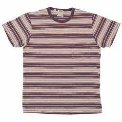 Striped Cotton T-Shirts