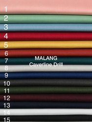 Malang Plain Cotton Fabric, For Textile Industry
