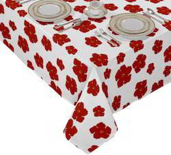 Flower Printed Table Cloth