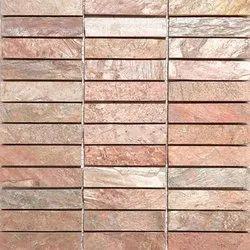 Capstona  Stone Mosaics 3 Strips Bhatti Copper Tiles