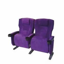 Purple Push Back Deluxe Auditorium Chair