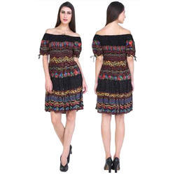 36f3a68ee733 S And L Ladies Printed Tunic Dress, Rs 500 /piece, Perfect Ethnic ...