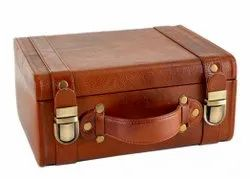 Tocco Brown Leatherette Briefcase Bag
