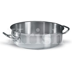 Heavy Duty Shallow Stock pot