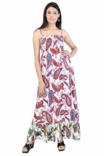 a8396d9b33 Women's Cotton Formal Wear Bohemian Dresses, Rs 430 /piece | ID ...