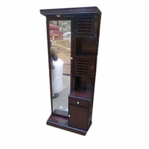 Teak Wood Brown Dressing Table, Height: 72 inch, Rs 13500 ...