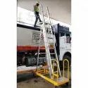portable tanker access ladder system
