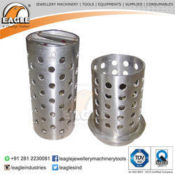 Jewelers Perforated Casting Flasks Without Flange