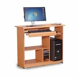 Wooden Rectangular Computer Table