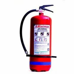 Red ABC Dry Powder Type Minimax Fire Extinguisher, For Industrial, Capacity: 4Kg