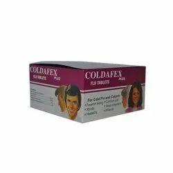 Coldafex Plus Flu Tablets, for Hospital