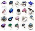 Gemstone Silver Rings
