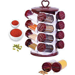 16 Pieces Spice Jar Set