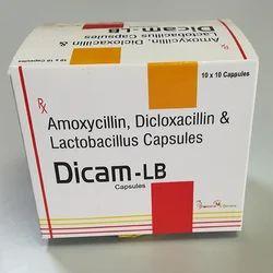 Amoxycillin Dicloxacillin &  Latic Acid Bacillus Capsules