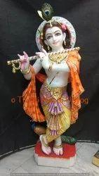 Sangmarmar Marble Krishna Statue
