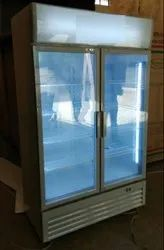 Double Door Vertical Freezers