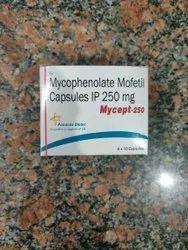 Mycophenolate Mofetil Mycept 250, Prescription, Panacea Biotech