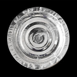 Silver Disposable Plate